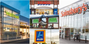 London UK Supermarkets