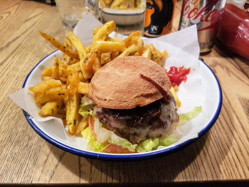 Honest Burgers burger