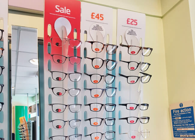SpecSavers cheap glasses