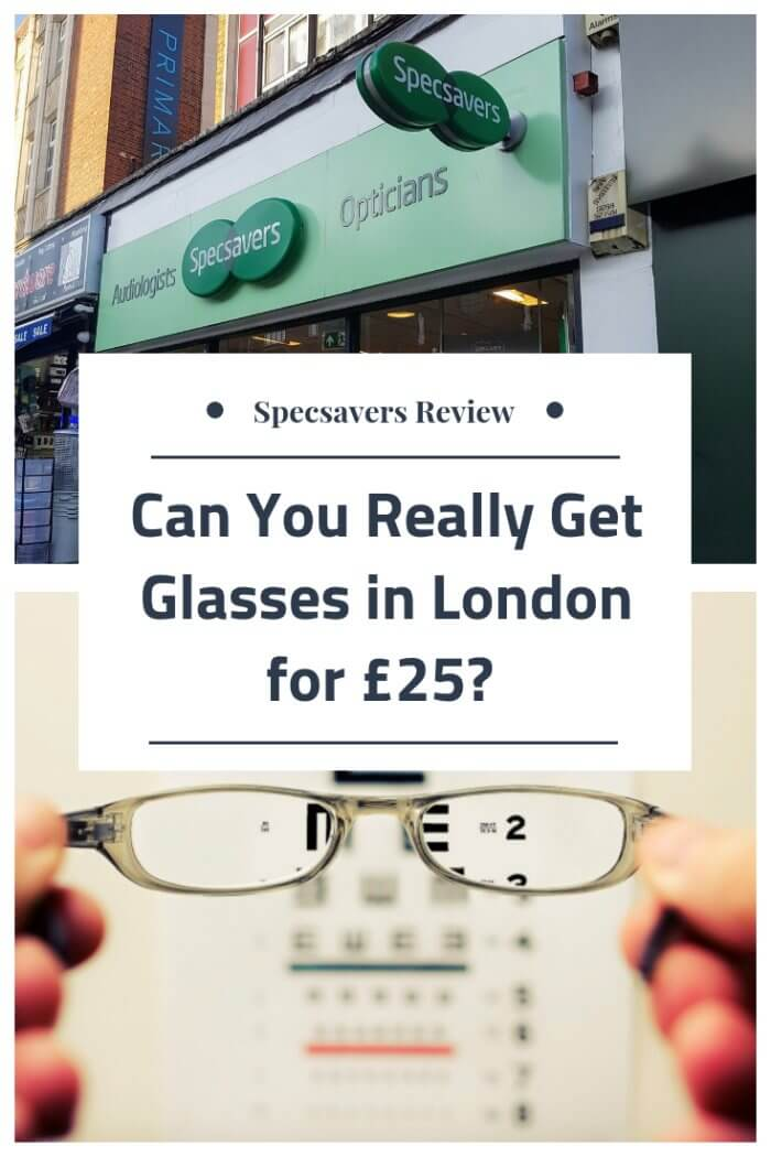 Specsavers review free eye test cheap glasses