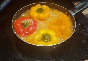 Stuffed peppers with rice recipe