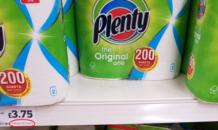 Plenty kitchen rolls paper towels