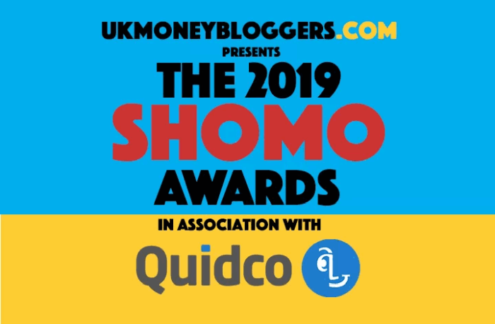 UK Money Bloggers shomos 2019