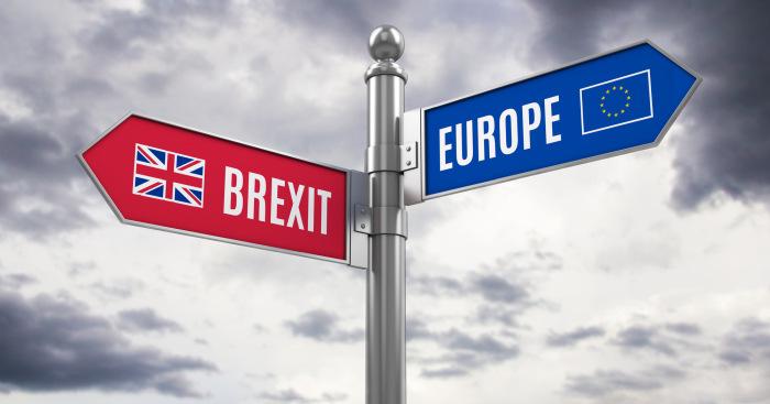 Brexit roadsign